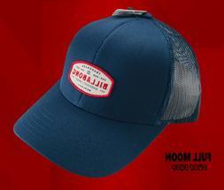 New Billabong Walled Blue Red Trucker Mens Snapback Cap Hat