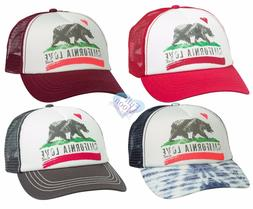 New Billabong Women's Pitstop California Love Mesh Snapback