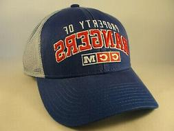 New York Rangers NHL Trucker Snapback Hat Cap CCM
