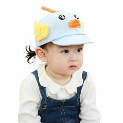 Newborn Baby Baseball Cap Soft Adjustable Sun Protection Tru