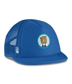 Northh Face Mini Trucker Hat Cap Infant, Blu Bear, Brand New