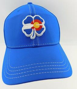 NWT Black Clover Blue Colorado Flag Clover Live Lucky Baseba