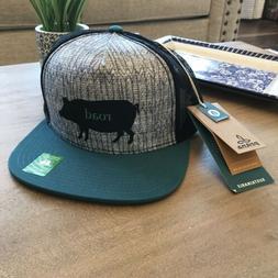 NWT! PrAna Journeyman Trucker Hat Roadhog OS