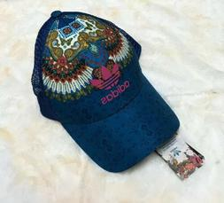 NWT ADIDAS ORIGINALS Trucker Cap Hat,  Brazil, One Size RARE