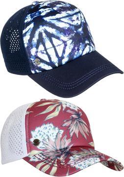 NWT Roxy Women's Waves Machines Trucker Hat Cap Snapback Adj