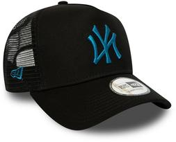 NY Yankees New Era MLB League Essential A-Frame BlackTrucker
