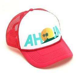 O'Neill Women's Baseball Cap Hat Trucker Logo Aloha Clear Sk