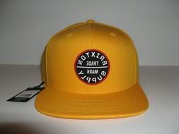 Brixton Oath III Skate Snapback Trucker Hat Baseball Cap Gol