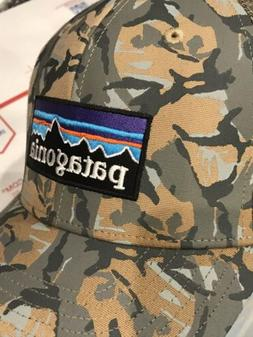 Patagonia Obsolete P6 Camouflaged Trucker Hat, New!