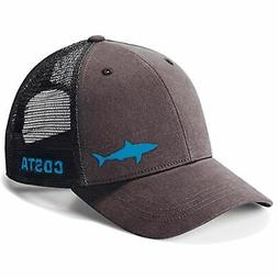 Costa Del Mar Ocearch Blitz Trucker Hat Charcoal Snap Back H