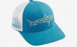 ocearch huddle trucker hat costa blue white