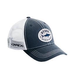 Costa Del Mar Ocearch Nantucket Trucker Hat Navy/White Snap