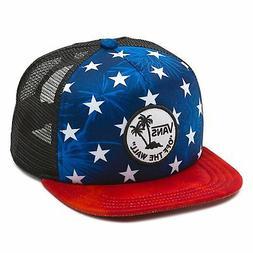 Vans Off The Wall Men's Surf Patch Stars Trucker Hat Cap - R