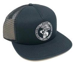 Vans Off The Wall Men's Wheeling Trucker Hat Cap - Black