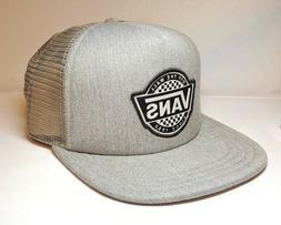 VANS OFF THE WALL RETRO CHECKER TRUCKER HAT SKATE CAP SNAPBA