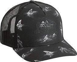 RVCA Offbeat Printed Trucker Hat Black One Size