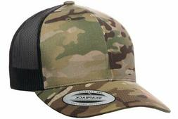 Flexfit Officially Licensed Yupoong Retro Trucker Multicam b