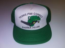 OLD VINTAGE HAT TRUCKER SNAPBACK ADVERTISING FARMER MESH JOH