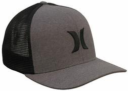 Hurley One and Textures Trucker Hat - Black / Black - New