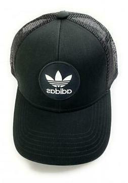 adidas Originals Circle Men's Trucker Adjustable Cap Hat Bla