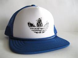 Adidas Originals Heritage Trucker Snapback Cap Blue White Bl
