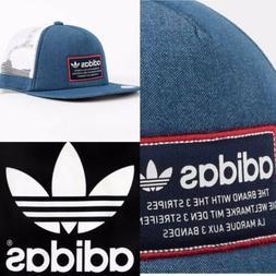Adidas Originals Patch Men's Trucker Hat ⚪️🔵 💯 Aut