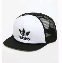ADIDAS Originals TREFOIL Mesh Trucker Hat Snapback Cap Men's