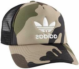 Adidas Originals Trucker Cap Camouflage Snapback Mesh Unisex