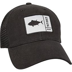 Costa Del Mar Original Patch Tuna Trucker Hat - Black/Black