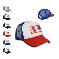 Rapid Dominance Patriotic USA Flag Classic Foam Mesh Trucker