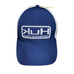 Huk Performance Fishing Head Gear Navy Blue/White Logo Truck