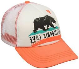 Billabong Pitstop Women's Trucker Hat - Coral - New