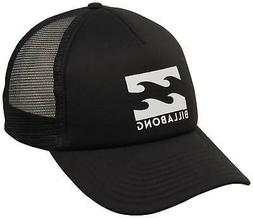 podium trucker hat black white new