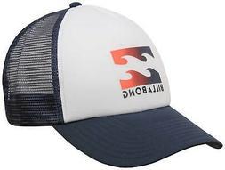 Billabong Podium Trucker Hat - Navy / Red - New