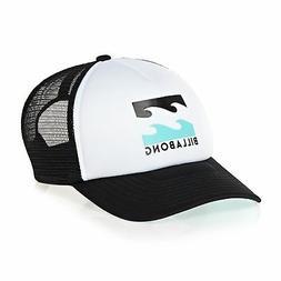 Billabong Podium Trucker Kids Headwear Cap - White Blue One