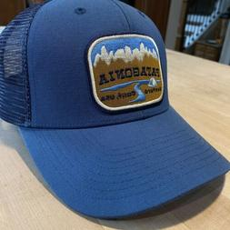 Patagonia Pointed West Trucker Hat - New Without Tags - Glas