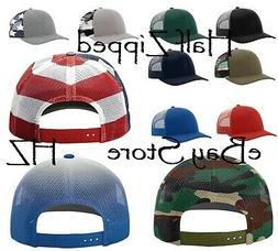 Richardson Printed Mesh Trucker Cap Baseball Hat 112PM 8 col