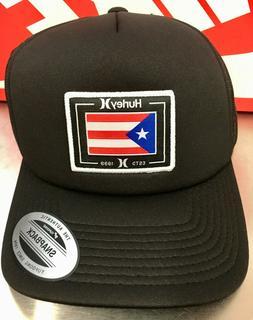 Hurley Puerto Rico Snapback Trucker Hat Cap Men's