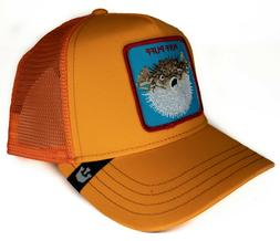 Goorin Bros Puff LTD Orange Men's Trucker Hat 101-0635-ORA O