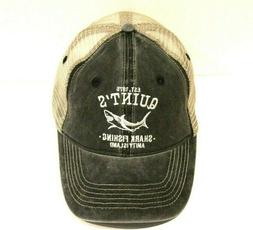 Quint's Shark Fishing Trucker Hat Baseball Cap Jaws Movie Sh