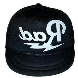 Rad Radical  Baby Newborn Infant Mesh Trucker Hat Cap Snapba