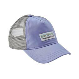 Patagonia Womens Pastel P-6 Label Layback Trucker Hat Light