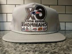 retro 6x super bowl trucker hat throwback