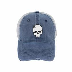 Retro Baseball Caps Bone Skull Hats Women Snapback Casquette