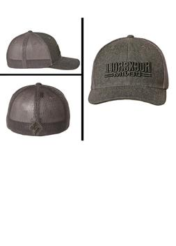 Rock & Roll Denim Men's Grey Denim Flex Fit Trucker Ball Cap