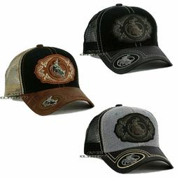 RODEO COWBOY Hat Western Style Trucker Mesh Snapback Curved