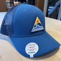 Patagonia Rollin' Thru Trucker Hat - New With Tags - Big S