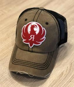 Ruger Logo Trucker Hat Pro Gun Embroidered Patch 2nd Amendme