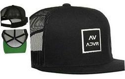 RVCA Va All The Way Trucker Iii Hat One Size Black