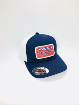 Vampar Clothing Co S.A.W. Flex Fit Trucker Hat Size L/XL Nav